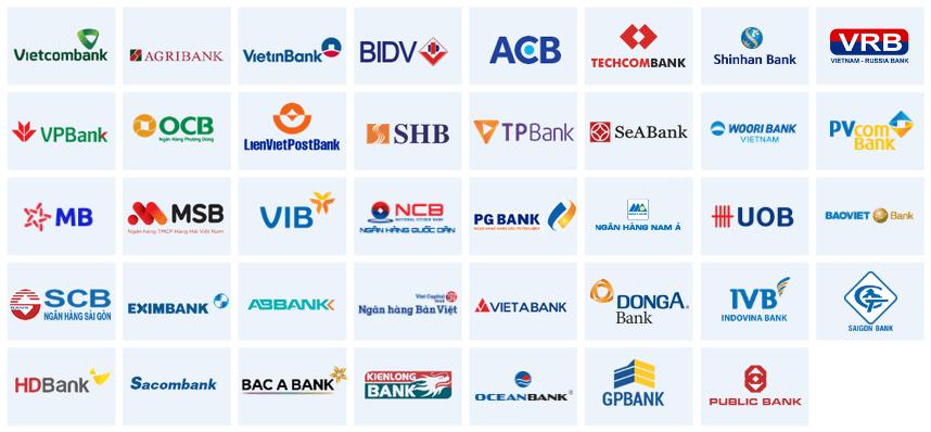 Danh sách ngân hàng
